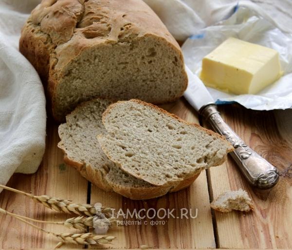 Рецепт пшенично-ржаного хлеба в хлебопечке