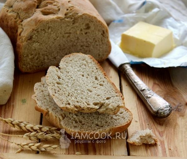 Фото пшенично-ржаного хлеба в хлебопечке