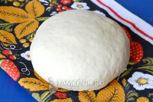 Заварное тесто для вареников с творогом