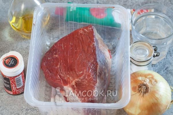 Ингредиенты для венского гуляша из говядины