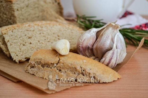 Фото хлеба из цельнозерновой муки в духовке