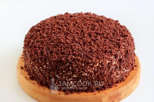 Фото шоколадного торта на кефире