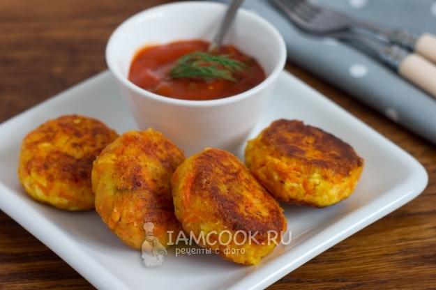 Рецепт морковно-картофельных котлет