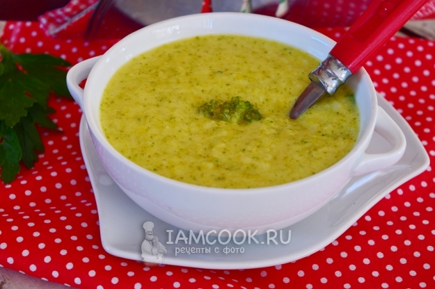 Фото супа из брокколи для ребенка
