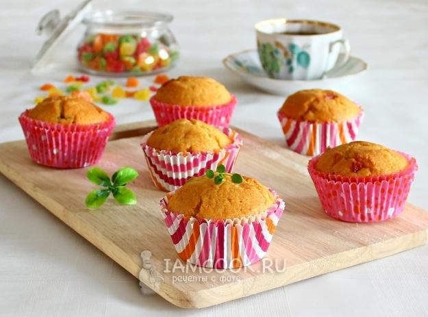 Рецепт кексов на кефире и маргарине
