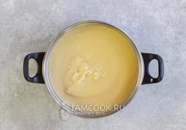 Пюрировать суп