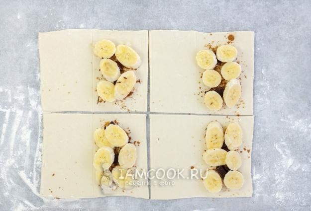 Положить бананы