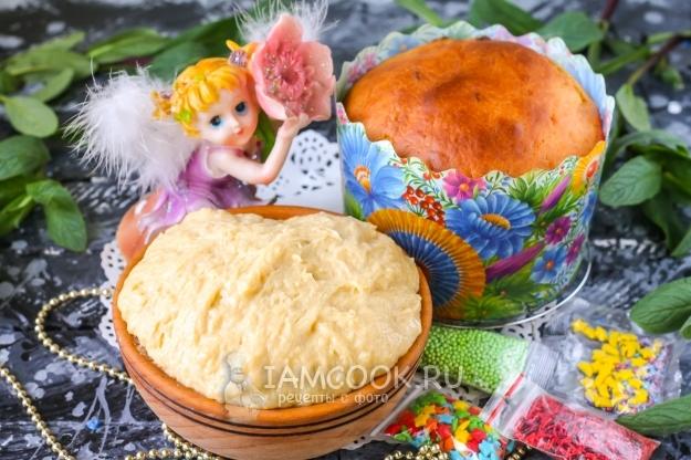 Рецепт теста для пасхи в хлебопечке