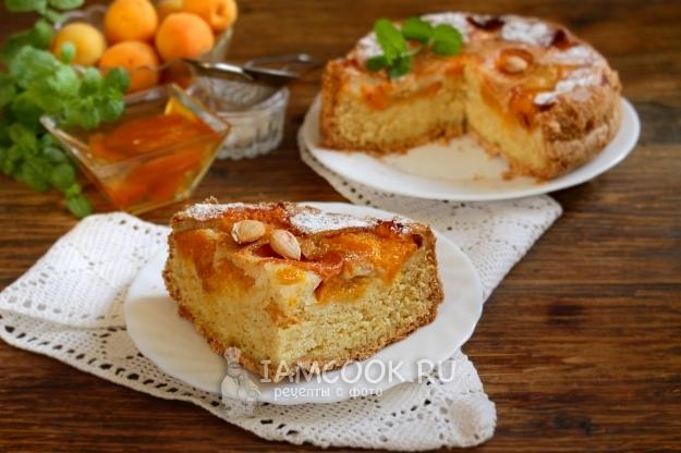 Рецепт пирога с замороженными абрикосами