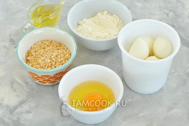 Ингредиенты для Моцареллы фри