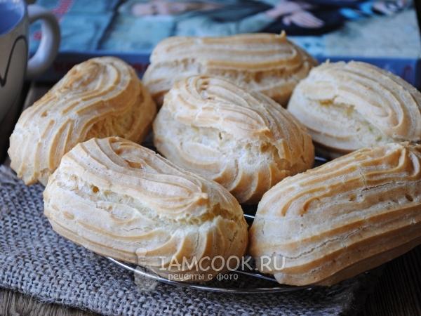 Эклеры на маргарине — рецепт с фото пошагово