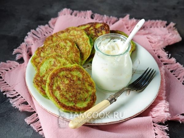 Оладьи из брокколи — рецепт с фото пошагово
