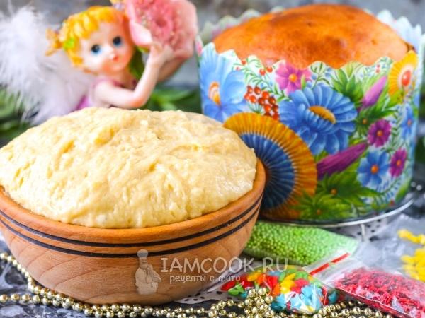 Тесто для пасхи в хлебопечке — рецепт с фото пошагово