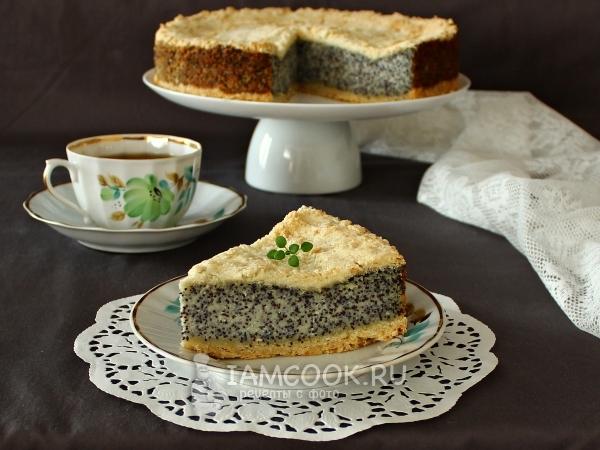 Немецкий маковый пирог — рецепт с фото пошагово