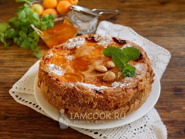Пирог с замороженными абрикосами — рецепт с фото пошагово