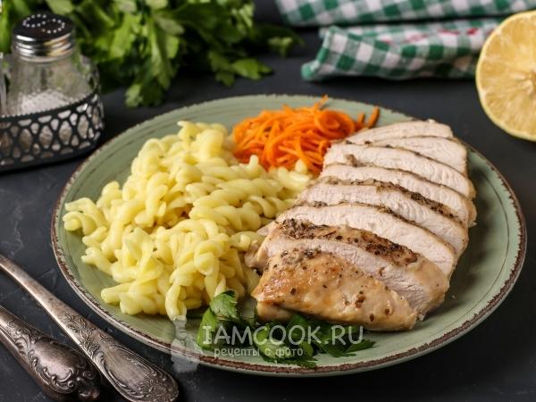 Куриное филе в лимонном соусе в духовке — рецепт с фото пошагово