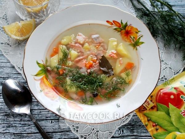 Суп из кижуча — рецепт с фото пошагово