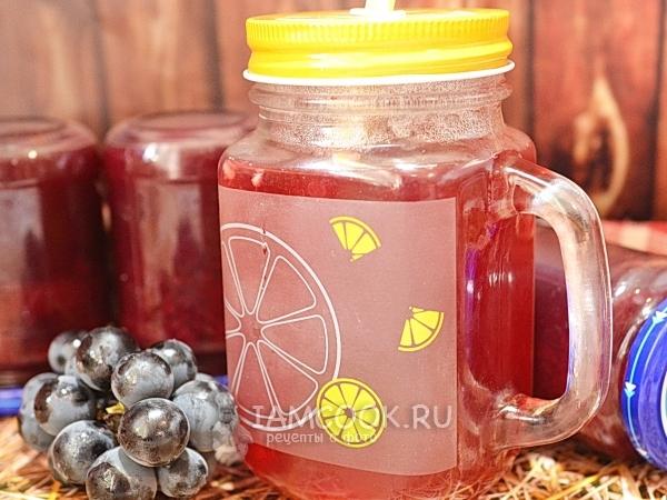 Сок из винограда Изабелла — рецепт с фото пошагово