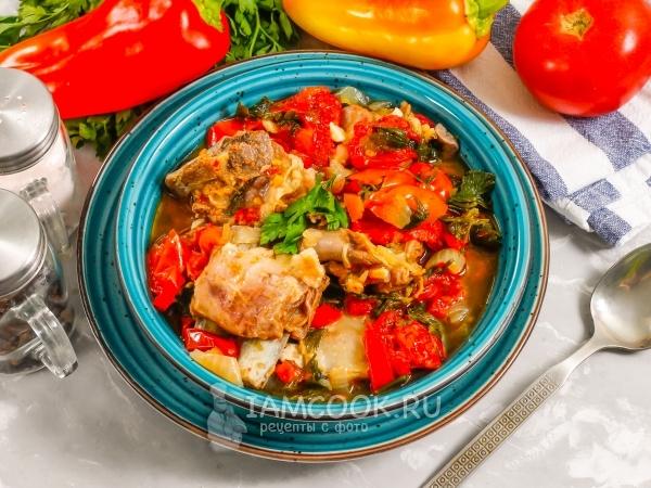 Буглама из баранины — рецепт с фото пошагово