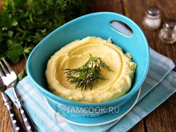 Картофельное пюре без молока и масла — рецепт с фото пошагово