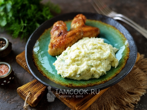 Картофельное пюре со сметаной — рецепт с фото пошагово
