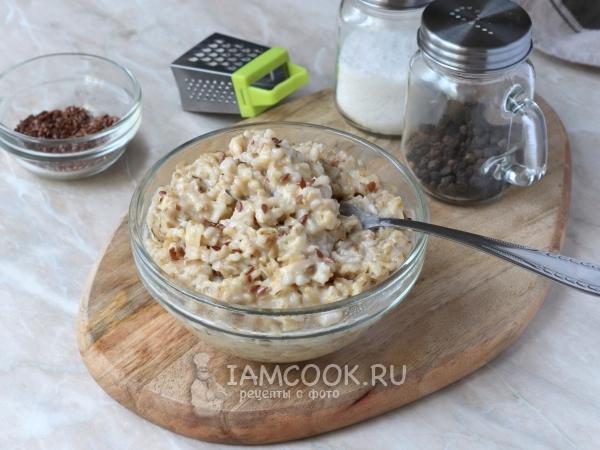 Овсяная каша с сыром — рецепт с фото пошагово