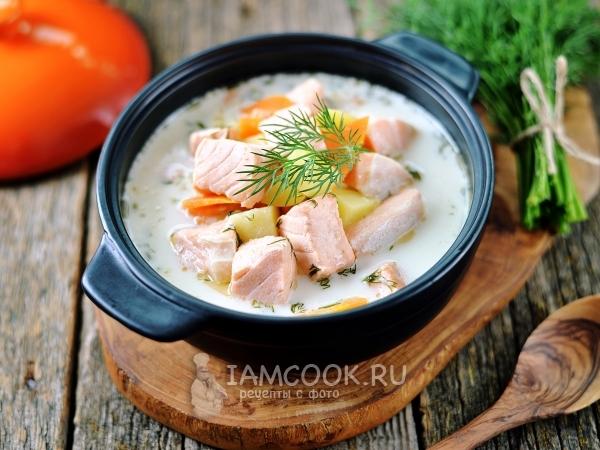 Лохикейто (финский рыбный суп) — рецепт с фото пошагово