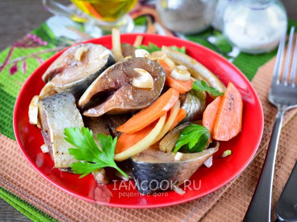 Маринованная сельдь с морковью и луком — рецепт с фото пошагово