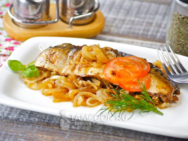 Скумбрия в соевом соусе в духовке — рецепт с фото пошагово