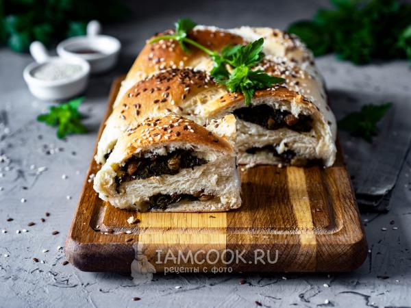 Постный пирог со щавелем — рецепт с фото пошагово