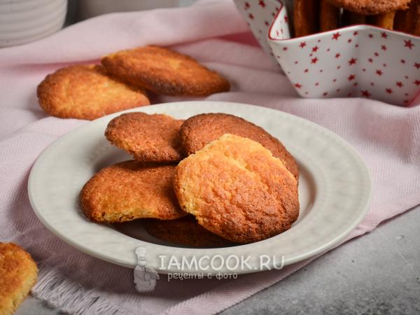 Печенье из творожного сыра — рецепт с фото пошагово