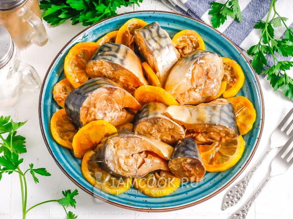 Маринованная скумбрия в соевом соусе — рецепт с фото пошагово