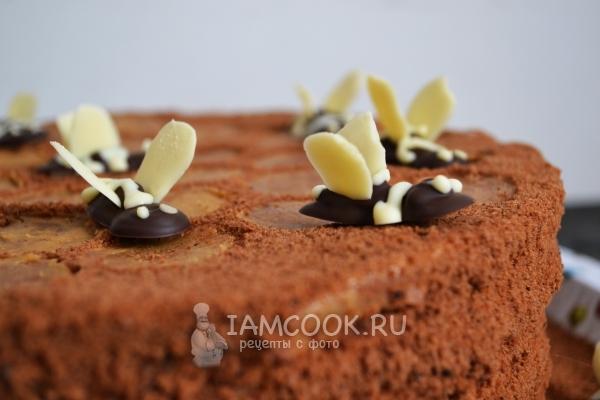 Торт медовик «Пчелка»