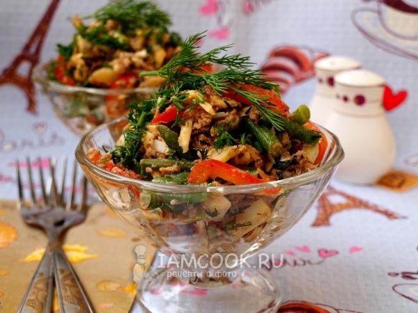 Салат с тунцом яйцом и авокадо картинки