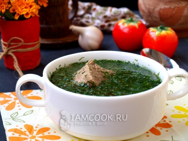 Рецепт хашламы по-грузински