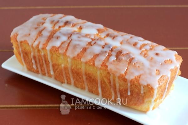 Фото классического лимонного кекса