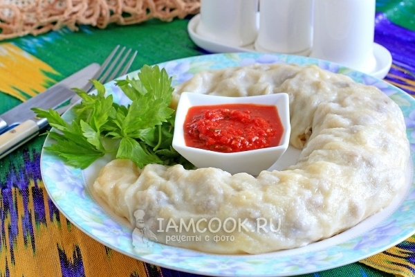 Рецепт ханум с мясом и картошкой