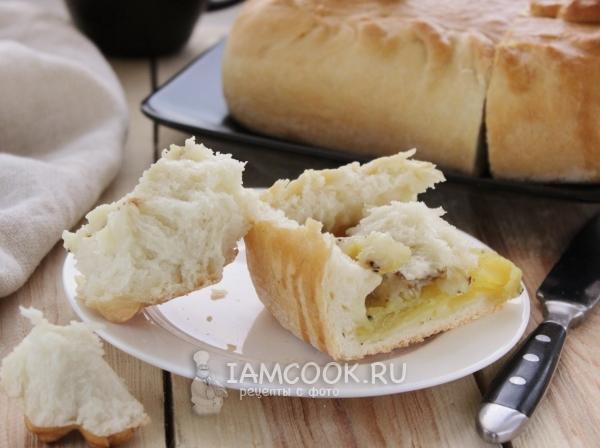 Рецепт постного пирога с рыбой