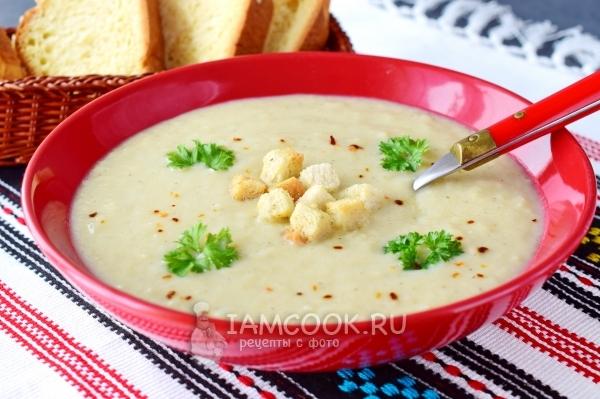 Фото супа-пюре из цветной капусты со сливками