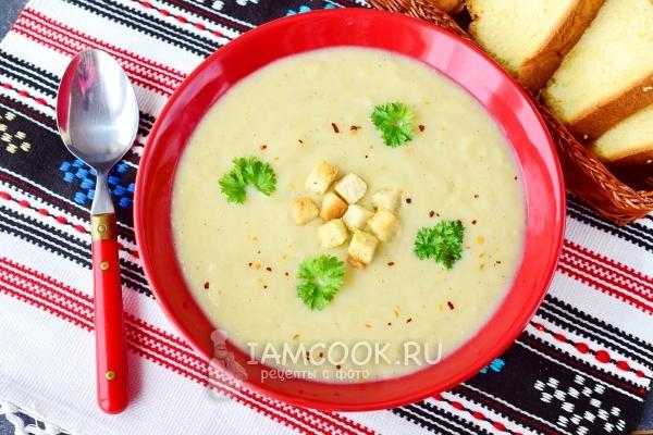 Рецепт супа-пюре из цветной капусты со сливками