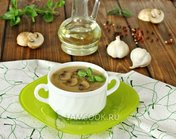 Соус из шампиньонов со сметаной