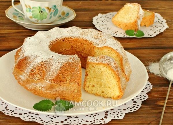 Фото кекса на маргарине