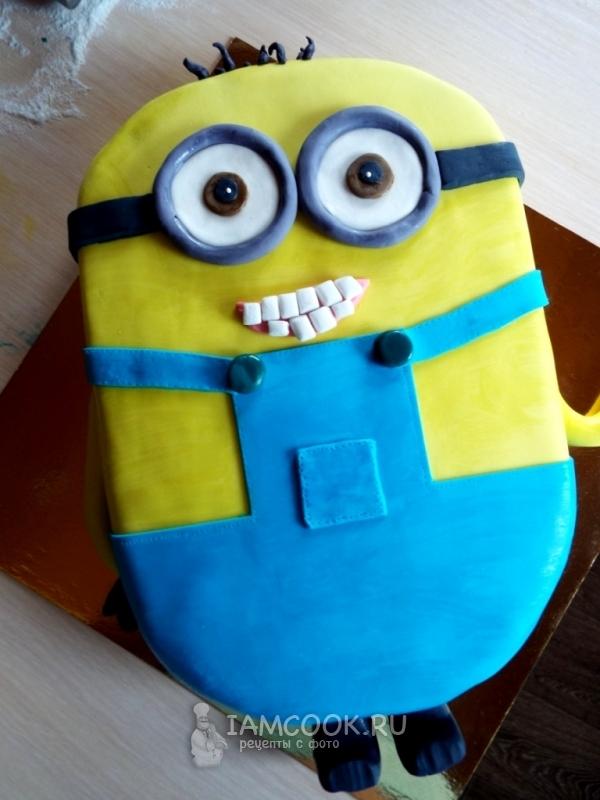 Как сделать торт миньон фото 543