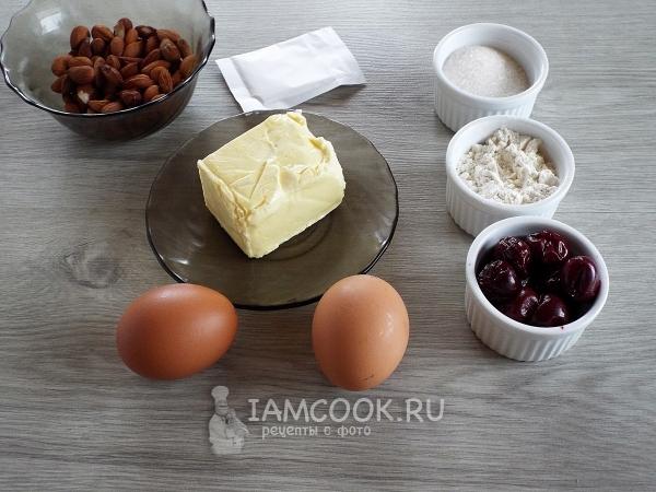 Ингредиенты для классического венского пирога