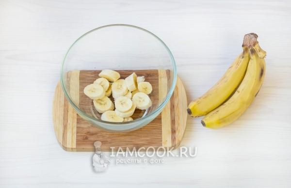 Порезать банан
