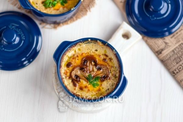 Рецепт жульена (жюльена) с грибами