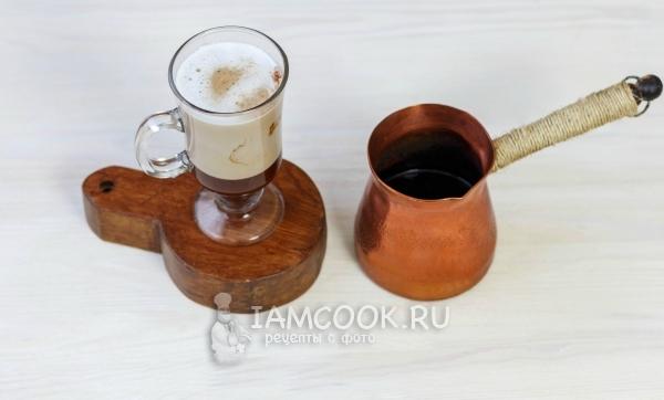 Как сделать раф кофе