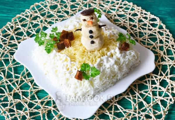 Салат «Берёзка» — 4 рецепта с фото пошагово
