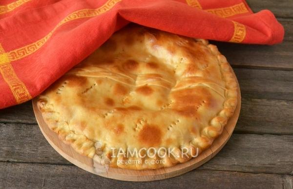 Рецепт пирога с сыром из дрожжевого теста