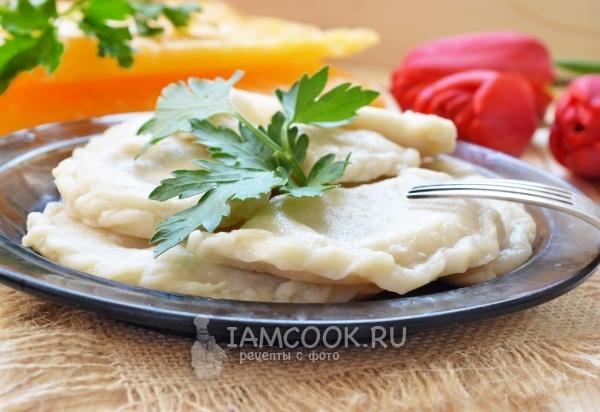 Рецепт вареников с тыквой